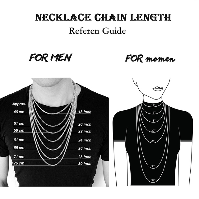 Chains necklace mens Stainless Steel long Necklace Women Best Friends Hip Hop black chain Necklaces Figaro Neck Chains jewelry
