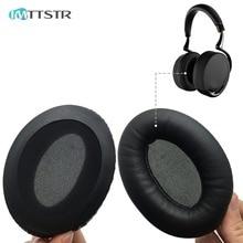 Imttstr 1 쌍의 귀 패드 earpads 귀마개 커버 쿠션 교체 컵 앵무새 zik 1.0 philippe 헤드셋