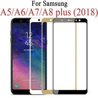 9d vidro protetor completo para samsung galaxy j4 j6 a6 a8 plus a5 a7 j7 j8 2018 vidro tremp a750 a730f samsun sumsung galaxy|Protetores de tela de telefone| |  -
