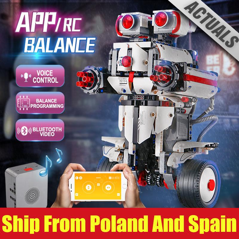 Yeshin البرمجة EV3 روبوت متوافق مع Legoingly 31313 EV3 روبوت مع App التحكم الاطفال ألعاب روبوتية بناء كتل الطوب-في حواجز من الألعاب والهوايات على  مجموعة 1
