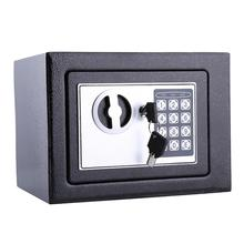 6.4 L 8.5 L 16L Digital Safe Box Security Lock Digital Safe Storage Box Money Bank Safety Security Box Money Cash Coins Key Cash