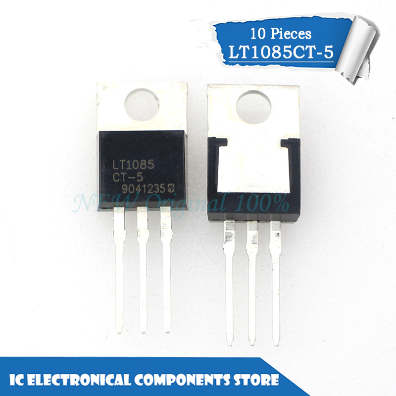 5PCS IC lineal TO-220 LT1085CT-3.3 LT1085CT-3.3#PBF LT1085