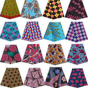 Ankara African prints batik pagne real wax fabric Africa sewing wedding dress crafts material 100% polyester high quality tissu(China)