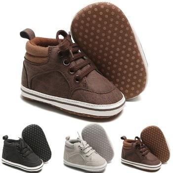 Niño chico bebé niñas niños niño lindo primer paseo botas de invierno...