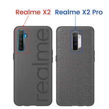 Official 100% Original OPPO Realme X2 Pro Case XT X2 Back Cover Global Version Soft Rubber Bumper PU+TPU