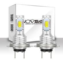 Novsight H4 H7 H11 H8 H9 H16JP H1 H3 車のledフォグ電球 9005 9006 自動車運転フォグランプ 6500 18k 12v 24v led車のヘッドライト