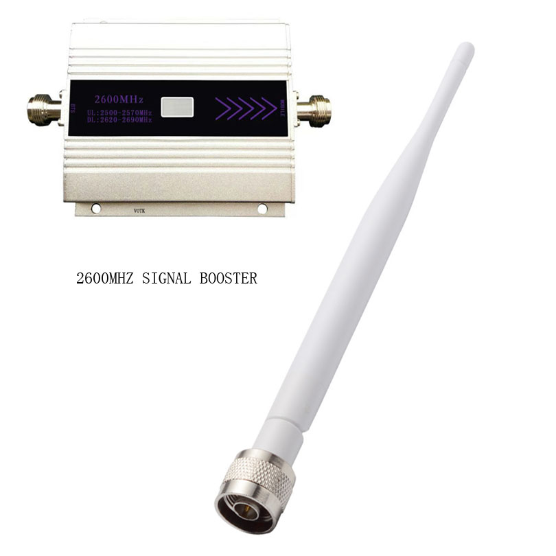 Cell Phone Signal Booster 4G  Signal Repeater Mobile FDD 2600MHZ Network Signal Amplifier With Indoor Antenna