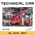 Lager Spielzeug Ziegel Technische 488 GTE Super Racing Auto Sport Voiture Kompatibel 42125 Bausteine Erwachsene Kinder Pädagogische Geschenke