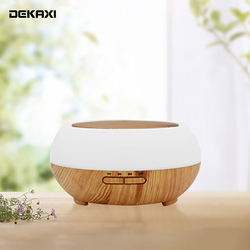 400ml Aroma Essential Oil Diffuser Smart Wifi Wireless Air Humidifier Compatible with Alexa and Google Home amazon Voice Control