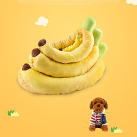 Dog clothes winter clothes coat dog clothes thickened pet cartoon with pet pad dog coat