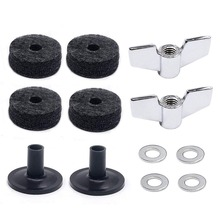Drum Accessories Kit: Cymbal Felts, Sleeves, Wing Nuts