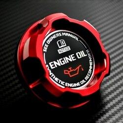 Red aluminium olej silnikowy Cap dla nissan ALTIMA MAXIMA SILVIA S13 S14 240SX SENTRA słoneczny INFINITI 350Z 300ZX