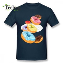 Break Tees Fashion Donuts Homme T Shirt For Man Free Shipping Unique For Male 100% Cotton Homme Tee Shirt break heart front tee