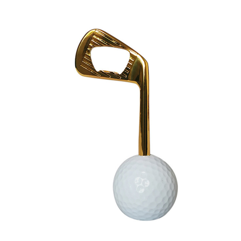 Creative Interesting High Quality Golf Ball Bottle Opener Holiday Party Novelty Item For The Golf Lover And Beer EnthusiastZi