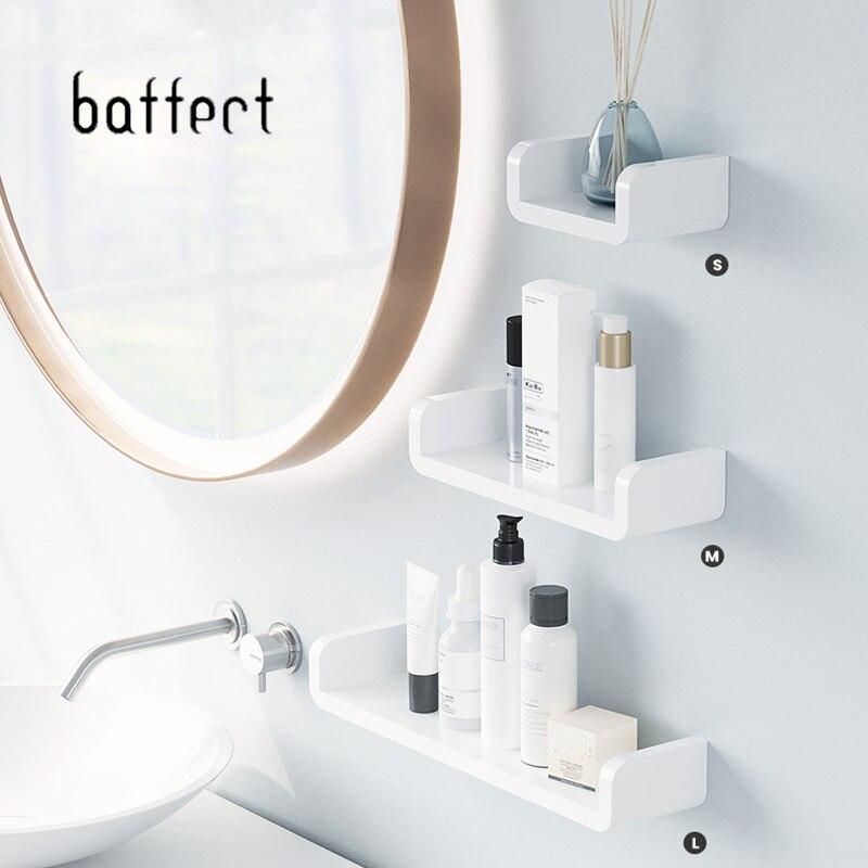 Toilet Shelf Bathroom Storage Shelves Wall Shelves Waterproof Plastic Storage Shelf Rack Accessories For Bathroom Organizer