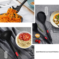 7Pcs Cooking Kitchenware Set Heat Resistant Home Food grade Silicone Shovel Spoon Non Toxic Cookware Eco friendly Utensils Tools