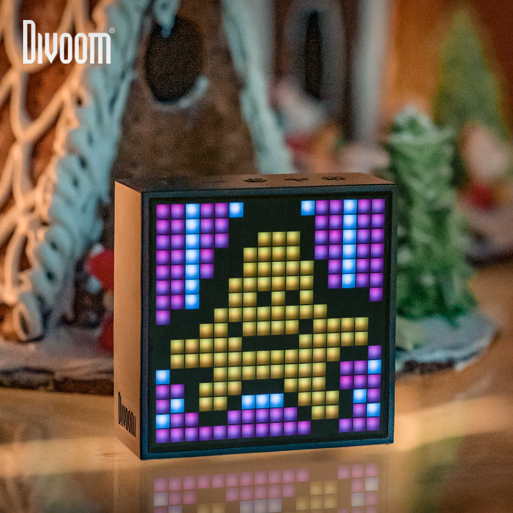Divoom Timebox Evo Bluetooth Portable Speaker With Clock