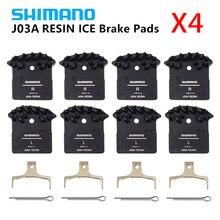 4 пары SHIMANO J03A ICE-TECH смолы охлаждающие ребра дисковые Тормозные колодки для M6000 M7000, M8000, M9000 Обновление от J02A