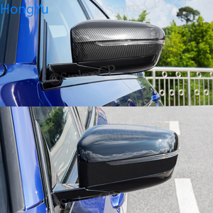 Image 3 - 2Pcs Car Bright Black Side Rear View Mirror Cover Replacement For BMW 3 5 6 7 Series G20 G30 G38 G11 G12 GT G32 2016   2020