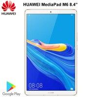 Оригинальный huawei Mediapad M6 8,4 дюймов стол Kirin 980 Восьмиядерный Android 9,0 ips экран 2560x1600 6100 мАч тип-c 13.0MP камера