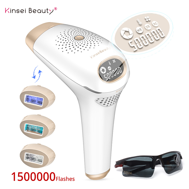 IPL Laser Hair Removal Photo Epilator A Laser IPL Hair Removal Machine Depilation 500000 Flashes Epilator Hair Removal Device