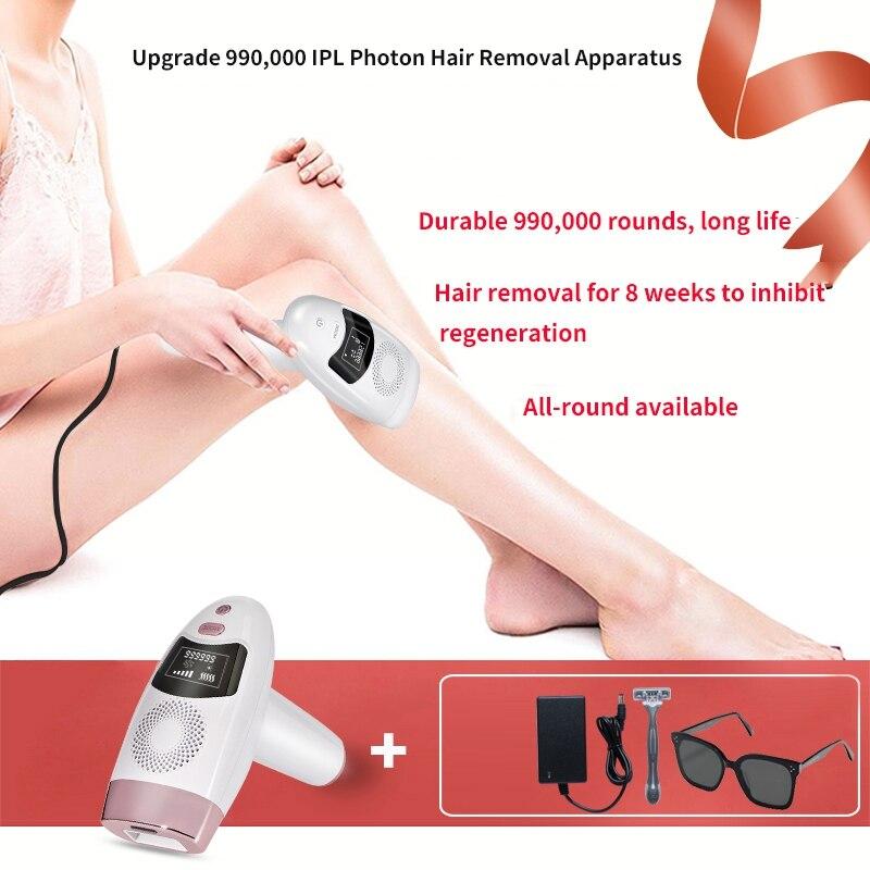 990000 flash depilador permanente biquíni trimmer corpo