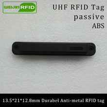 UHF RFID anti-metal tag 915mhz 868mhz Higgs3 EPCC1G2 6C 13.5*21*12.8mm durable ABS stocking shelves smart card passive tags