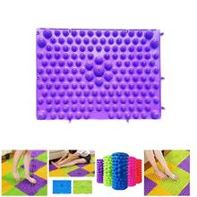 Durable Reflexology Foot Massage Pad Toe Pressure Blood Circulation Plate Mat can CSV style foot massage pad tpe modern acupressure reflexology mat acupuncture rugs fatigue relieve promote circulation gifts
