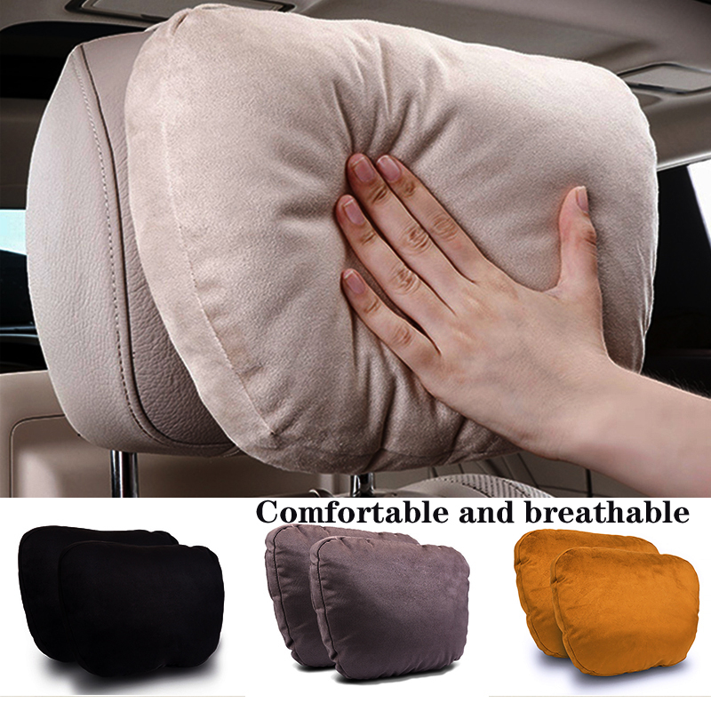 Universal Car Headrest Neck Support Seat  Rest Pillows Seat Cushion Support For Mercedes-Benz S Class  car seat Neck pillow