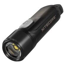 Nitecore טיקי LE 3 צבעים אור נטענת LED Keylight P8 300 Lumens LED Built in סוללה ליתיום נטען מיני poket פנס