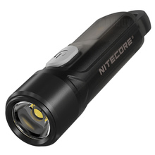 Nitecore Luz LED recargable TIKI LE, 3 colores, Keylight P8, 300 lúmenes, batería de ion de litio integrada, Mini linterna Poket