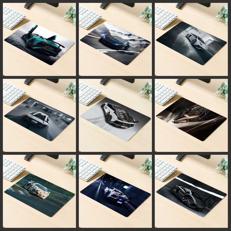 XGZ Big Promotion Gaming Mouse Pad Fashion Car HD Printing Computer Keyboard Custom Large Desk Mat Natural Rubber Non-slip