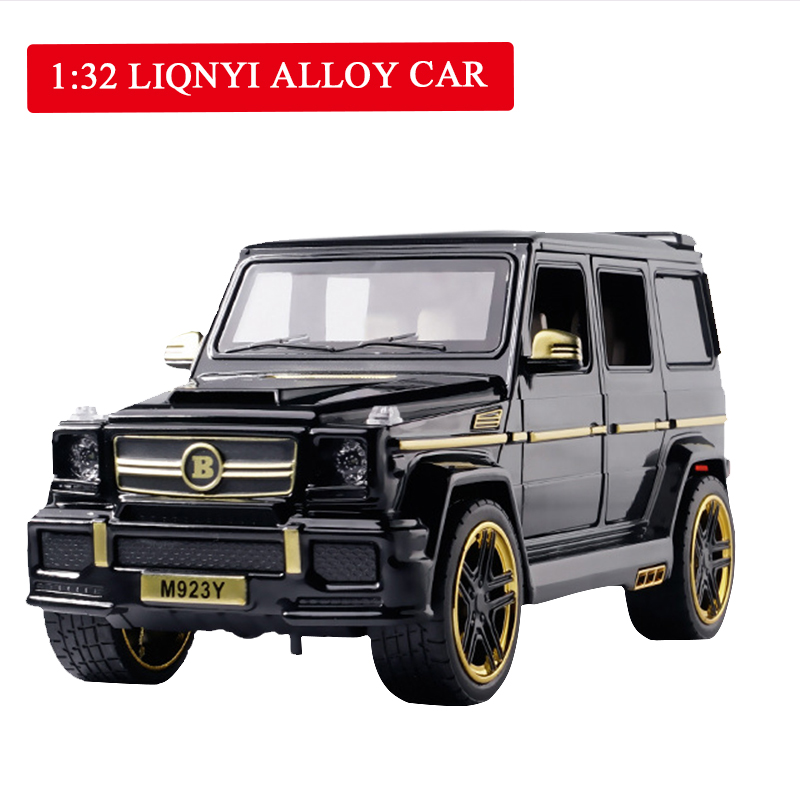 Diecast Brabus G65 1/24 Model Toy Car Metal Alloy Car Simulation Pull Back Cars Toys Vehicles For Kids Gifts For Children