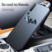 Ultra-sottile In Metallo Bat Opaca Cassa Del Telefono Del PC Per Xiaomi Mi 10 9 8 SE Lite Pro Redmi Nota 7 della miscela Max 2 3 Coperchio di Protezione Magnetica