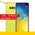 Samsung Galaxy S10e G970U/u1 8 Гб оперативной памяти 256 ГБ ROM Восьмиядерный процессор Snapdragon 855 LTE Android мобильный телефон 5,8
