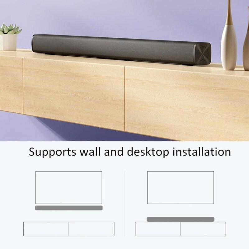 ТВ-Колонка Xiaomi Redmi, проводная беспроводная звуковая панель для ТВ, Bluetooth 5,0, воспроизведение музыки, домашний объемный звук, звуковая панель д...