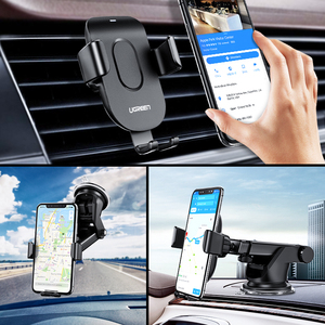 Image 5 - Ugreen  Qi Car Wireless Charger 7.5W For iPhone 11 X 8 Samsung Xiaomi Car Mount Fast Wireless Charging Car Phone Holder Charger