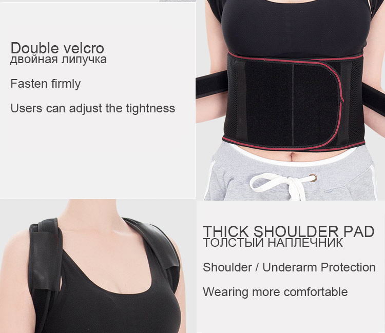 Chasall Posture Corrector Belt to Correct Back and Shoulder Posture  Provides Back Support Prevents Habitual Hunchback Helps to Relieve Shoulder and Back Pain 11
