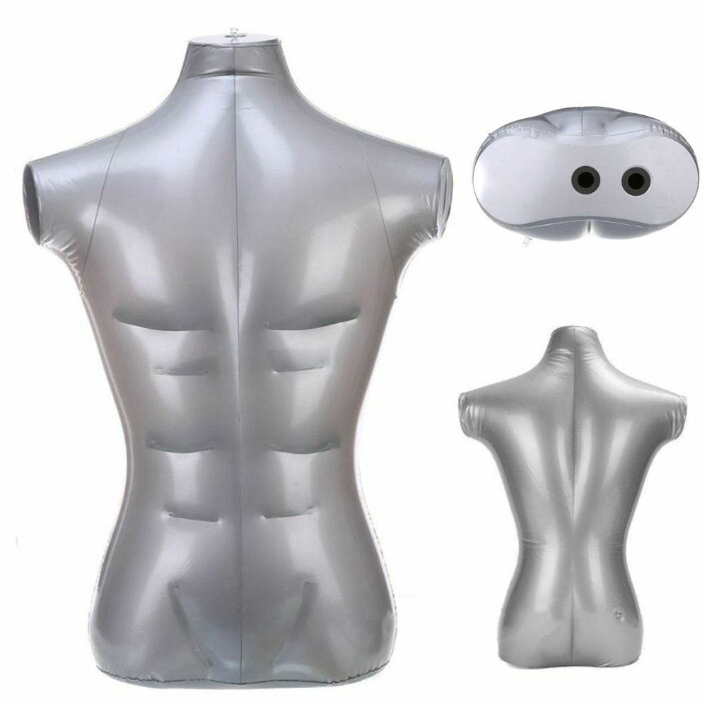 Man Pants Trou Underwear Inflatable Mannequin Dummy Torso Legs Model Durable