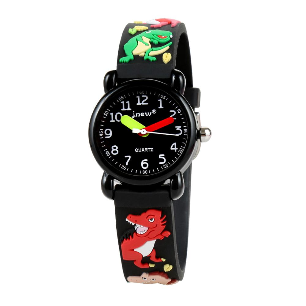 Children's Watch Cute Cartoon Waterproof Quartz Watch Primary School Boys and Girls 3d Silicone Watch