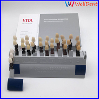Dental shade Guide 3D Tooth 29 Colors with Bleached Porcelain Shades for Teeth Whitening Treatments Dental Materials