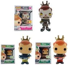 Funko pop exclusivo freddy funko se edição limitada vinil figura de ação bonecas brinquedos