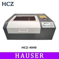 Free Shipping DSP HCZ co2 laser 4040 laser engraving cutter machine laser marking machine mini laser cnc router diy