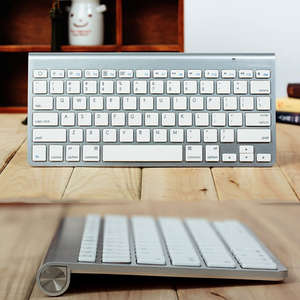 Image 5 - High Quality Ultra Slim Bluetooth Keyboard Mute Tablets and Smartphones For Apple Wireless Keyboard Style IOS Android Windows