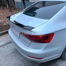 цена на For Volkswagen 19Jetta 2019 Sagitar ABS Primer Color Exterior Rear Spoiler Tail Trunk Boot Wing Decoration Car Styling