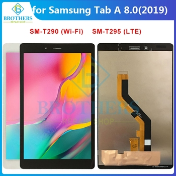 LCD For Samsung Galaxy Tab A 8.0'' 2019 SM-T290 SM-T295 T290 T295 LCD Dispaly Assembly for Tablet LCD Touch Screen Digitizer Top