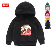 Boys Funny Cartoon Puppy Dog Pals Printed Hoodies Girls Sweatshirts 2T-8T Kids & Clothes Children