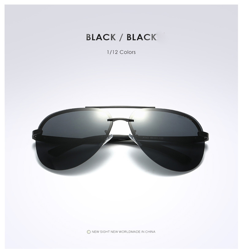 Hc159e30c400d432aa9c028e413b4e844c - New Alloy Frame Classic Driver Men Sunglasses Polarized Coating Mirror Frame Eyewear aviation Sun Glasses For Women