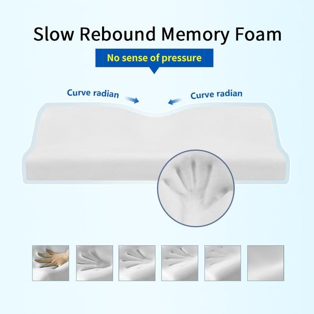 Orthopedic Concave Shape Memory Foam Pillow 3