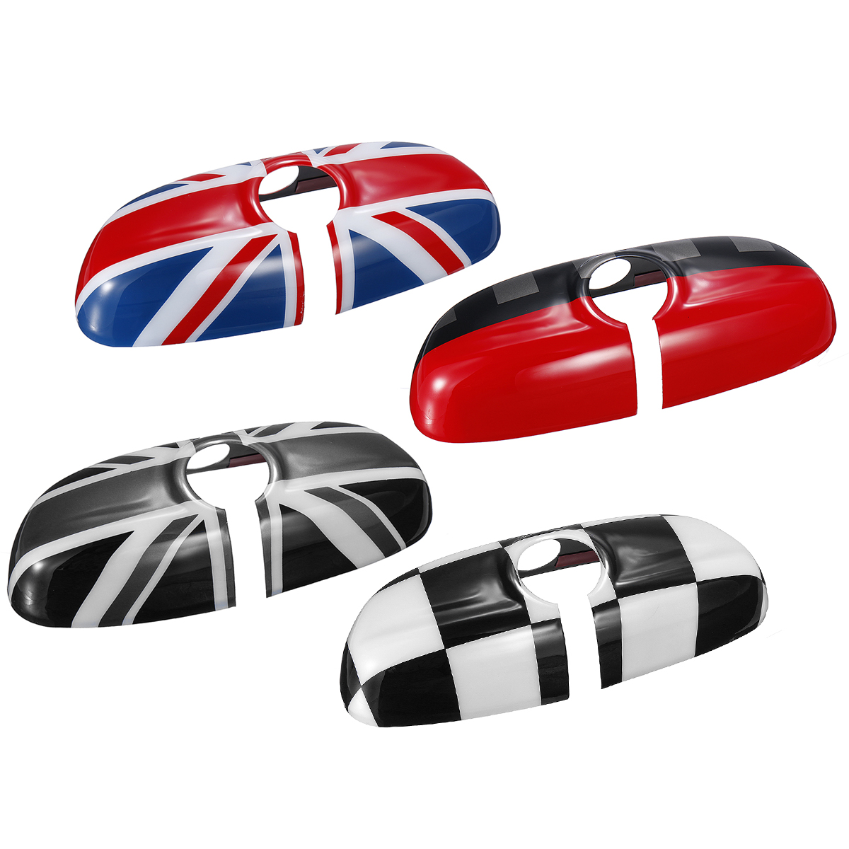 Pc Car Rear View Mirror Case Cover UK Flag Sticker Decoration For Bmw For BMW  For MINI Cooper JCW S One+ F54 F55 F56 F60